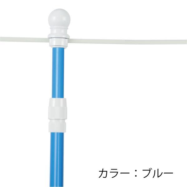 のぼりポール 2段伸縮のぼりポール 3M 選べる横棒サイズ 日本製 スタイリッシュ 1本単価285円 20本セット|hattoribana|08