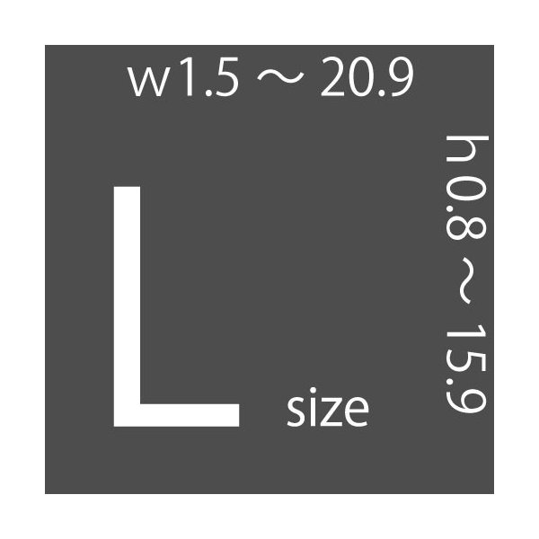 レザークラフト 道具 抜き型 四角 円 楕円 Lサイズ|hattorikaban|02