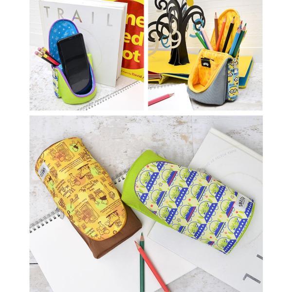 筆箱 キャラ ペンケース 大容量 スタンドペンケース かわいい 高校生 女子 おしゃれ スタンド かわいい 通学 文房具 男の子 hauhau 06