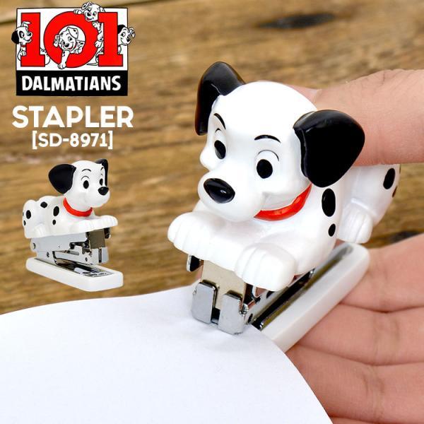 ホッチキス 101匹わんちゃん ラッキー かわいい Disney ディズニー ダルメシアン SD-8971 デスク用品 インテリア ステープラー 日用品 セトクラフト