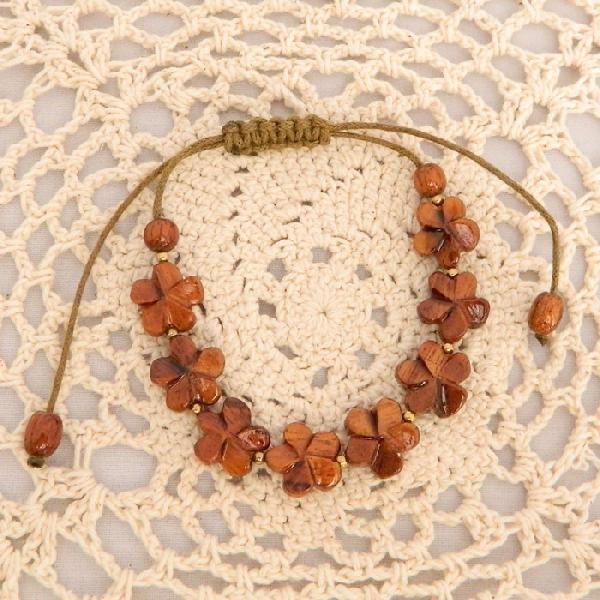 ハワイアンコア コアウッド ハワイアンジュエリー ハワイ製 ブレスレット #10 一点もの ハワイ お土産