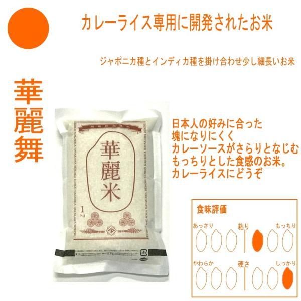お米 コシヒカリ 新之助 こしいぶき つきあかり 華麗舞 各1kg(5kg) 食べ比べセット haya-kome 06