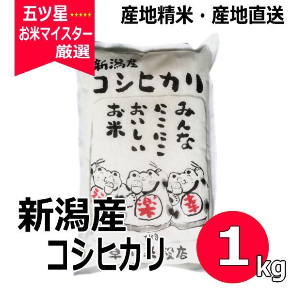 新米 コシヒカリ 1kg 新潟県産コシヒカリ 平成30年産|haya-kome