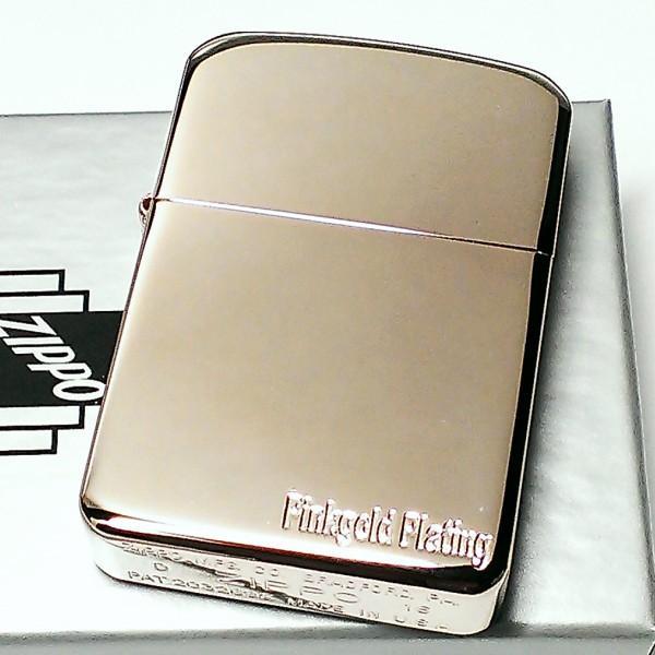 ZIPPO ライター 1941 復刻レプリカ ジッポ ピンクゴールドプレーティング 鏡面 シンプル 丸角 かっこいい おしゃれ メンズ レディース ギフト|hayamipro|02