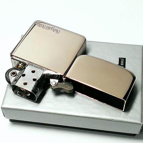 ZIPPO ライター 1941 復刻レプリカ ジッポ ピンクゴールドプレーティング 鏡面 シンプル 丸角 かっこいい おしゃれ メンズ レディース ギフト|hayamipro|04