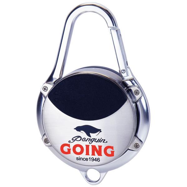 ペンギン ゴーイング カラビナアッシュトレイ 携帯灰皿 アウトドア キャンプ かっこいい 屋外 スライド式