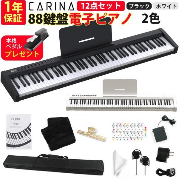 【11月中旬発送】電子ピアノ 88鍵盤 スリムボディ 充電可能 ワイヤレス コードレス MIDI対応 奥行きわずか18.5cm 省スペース 軽い 薄い 88鍵|hayarishop