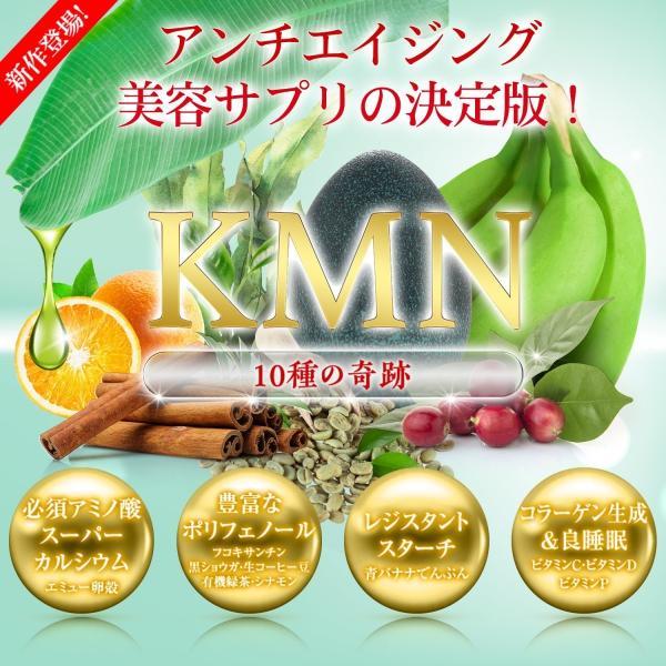 KMN ケーエムエヌ アンチエイジング サプリ オールインワン サプリメント 2ヶ月分 61粒入り 林原LSI|hayashibara-lsi|02