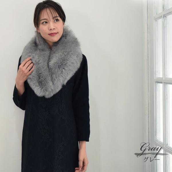 ファーマフラー 毛皮 SAGAフォックスマフラー日本製(FF2005)|hayashiguchi|06