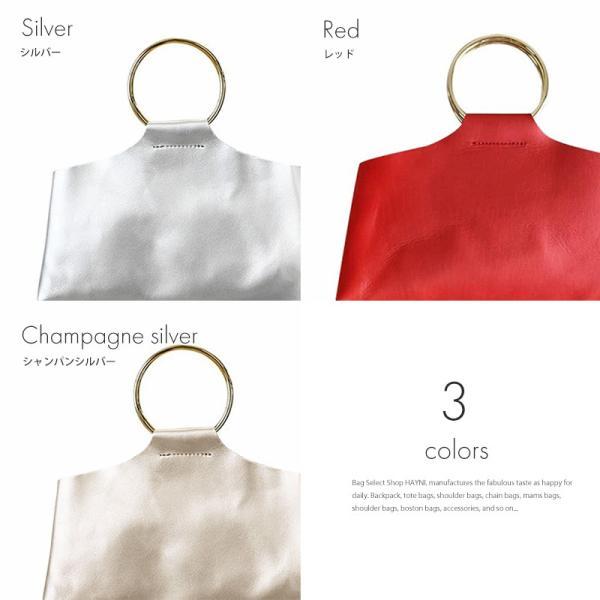 ハンドバッグ レディース 小さめ 本革ミニバッグ 日本製 丸金具の持ち手バッグ ヘイニ  「 Enhaut アンオー 」