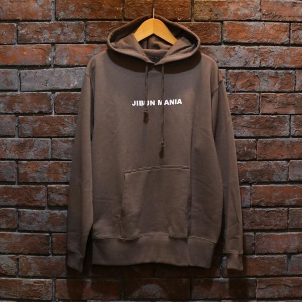 【JIBUN MANIA】10オンス パーカ color.チャコール|hazardholiday