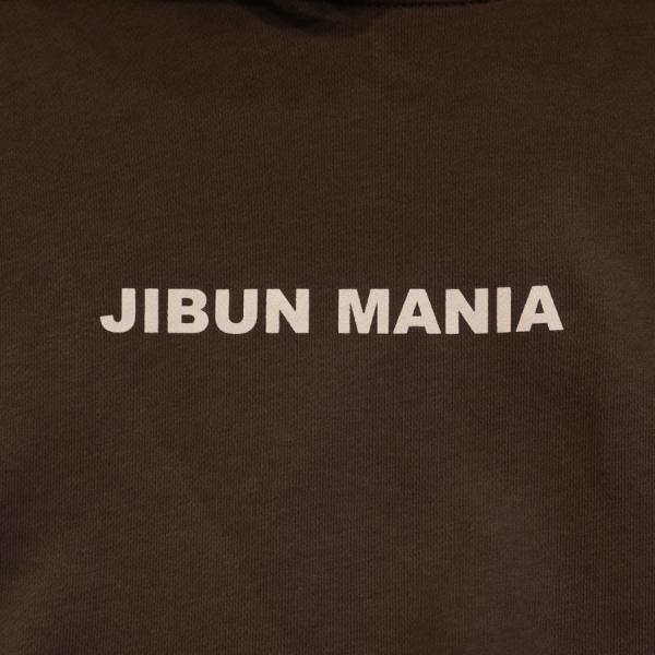 【JIBUN MANIA】10オンス パーカ color.チャコール|hazardholiday|04