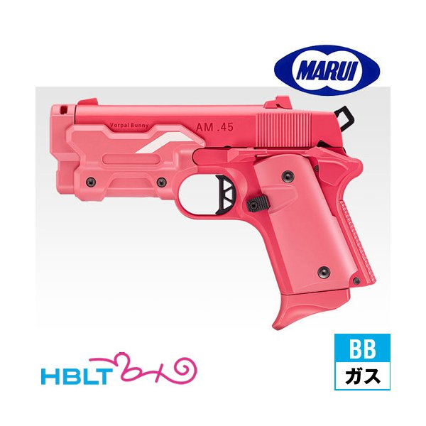 東京マルイ AM .45 Vorpal Bunny Ver.LLENN ピンク Pink No.97(ガスブローバック ピストル 本体) hblt