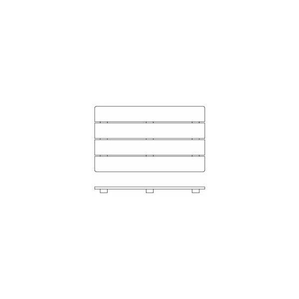 国産 桧すのこ 357x 600 x32 織田商事 [日本産 スノコ 簀子 押入れ 台所 土間 ベランダ 棚]