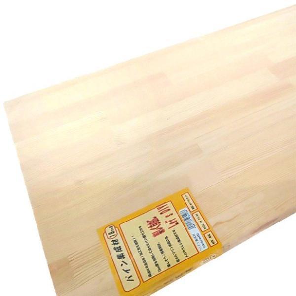 パイン集成材(赤松) 板1枚 910mm×18mm×400mm DIYセンチュリー [集成材 パイン集成材 赤松集成材 DIY用木材]