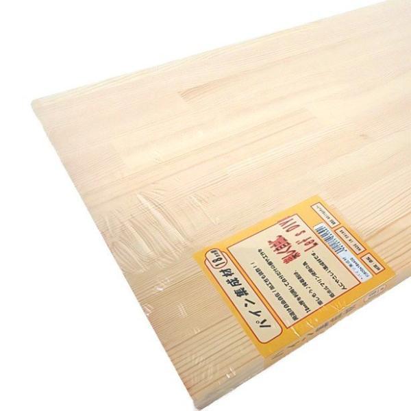 パイン集成材(赤松) 板1枚 600mm×18mm×400mm DIYセンチュリー [集成材 パイン集成材 赤松集成材 DIY用木材]