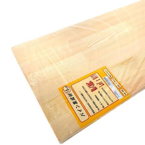 パイン集成材(赤松) 板1枚 600mm×18mm×300mm DIYセンチュリー [集成材 パイン集成材 赤松集成材 DIY用木材]