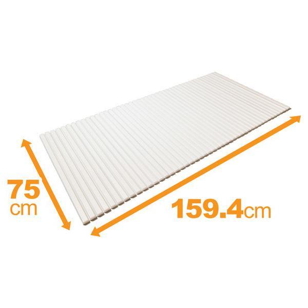 ケィ・マック 東プレ 風呂ふた シャッター風呂ふたL16 WH 75×160cm用