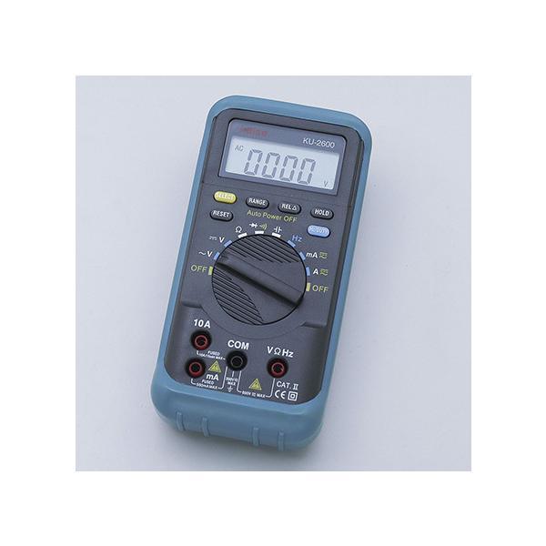 朝日電器 デジタルマルチメータ KU-2600