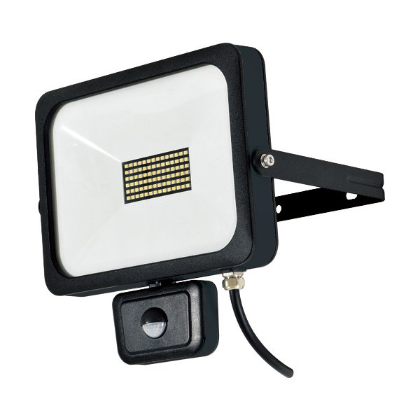 日動 LEDフラットセンサーライト 50W 屋外型 4500Lm 1台 SLSF50W ※配送毎送料要