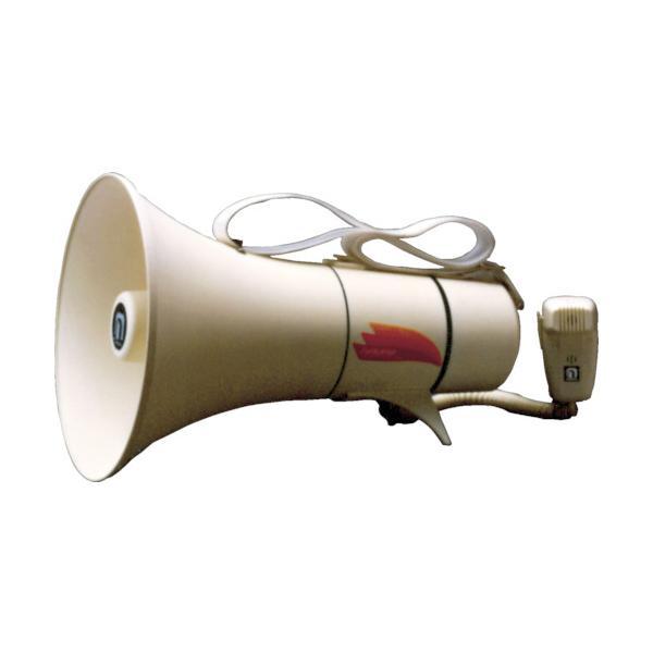 ノボル ショルダータイプメガホン13Wホイッスル音付き(電池別売) 1台 TM208 ※配送毎送料要