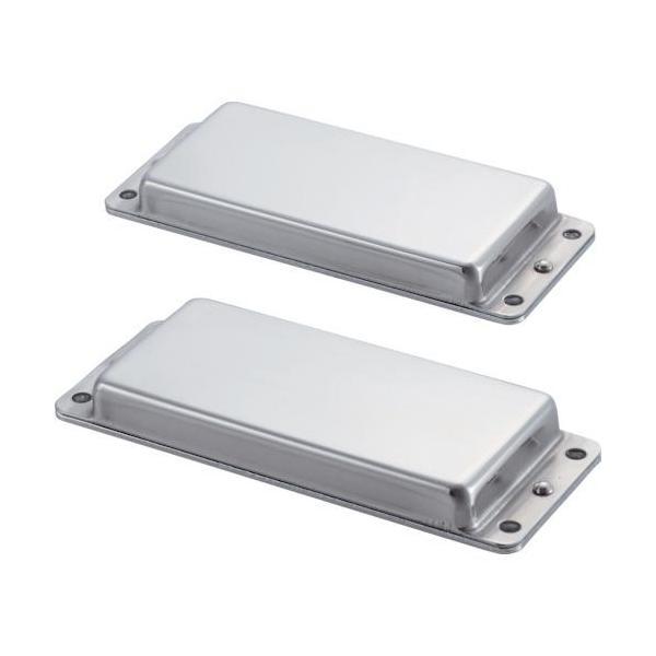 ■TRUSCO 簡易型マグネットプレート(2個入り) 吸着力50N【2853434:0】