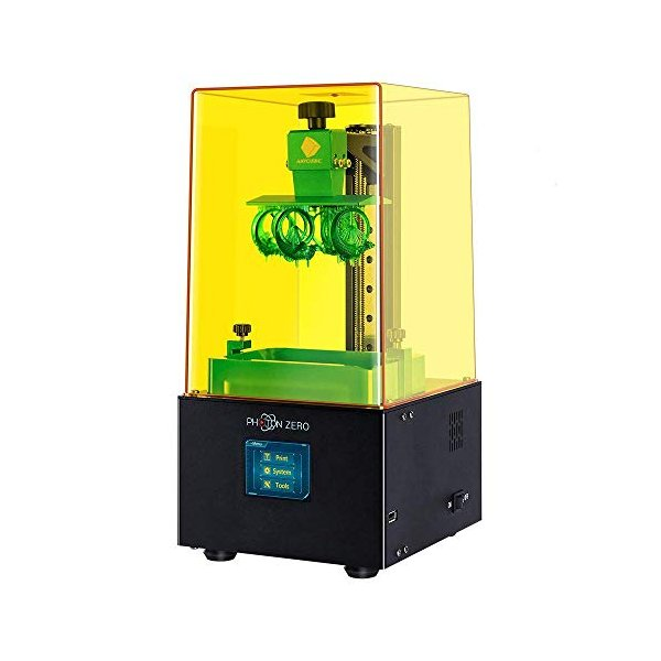 ANYCUBICPhotonZero光造形式3Dプリンター本体小型405nmUVLCD3Dプリンタ造形サイズ97×54×150m