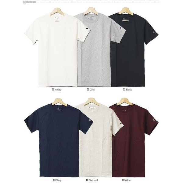 Tシャツ カットソー メンズ アメカジ 半袖Tシャツ ビッグシルエット Champion チャンピオン クルーネック 無地 US規格 セール|headroom|19