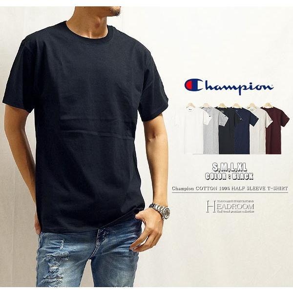 Tシャツ カットソー メンズ アメカジ 半袖Tシャツ ビッグシルエット Champion チャンピオン クルーネック 無地 US規格 セール|headroom|08