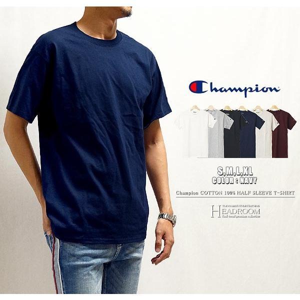 Tシャツ カットソー メンズ アメカジ 半袖Tシャツ ビッグシルエット Champion チャンピオン クルーネック 無地 US規格 セール|headroom|10