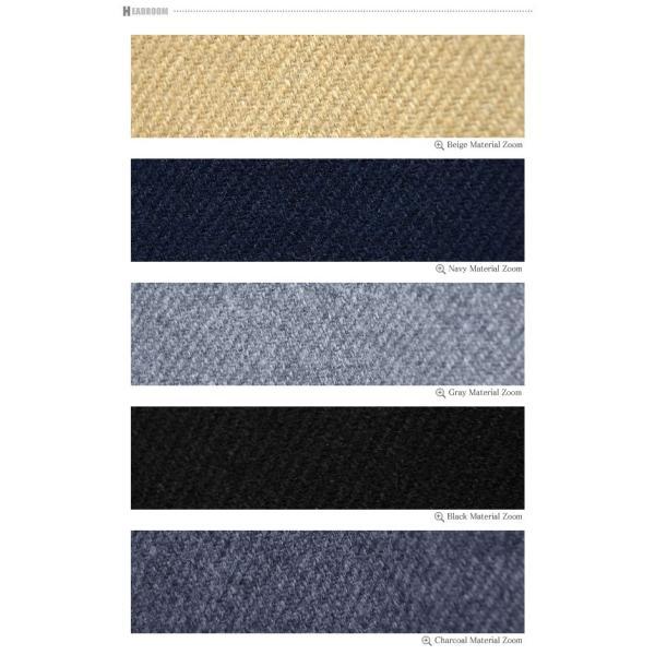 コート メンズ カルゼ編み メルトン ウール 起毛 ロング チェスターコート スリム|headroom|15