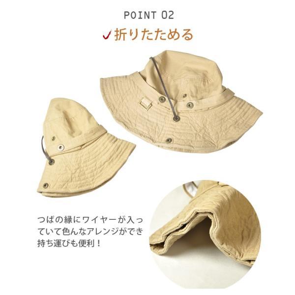 折りたたみ 帽子 2パターン 被り方が出来ちゃう 男女 兼用 テンガロン風 ブーニー 2WAY ハット uvカット 大きいサイズ XL XXL レディース メンズ キッズ|headwear-blake|16