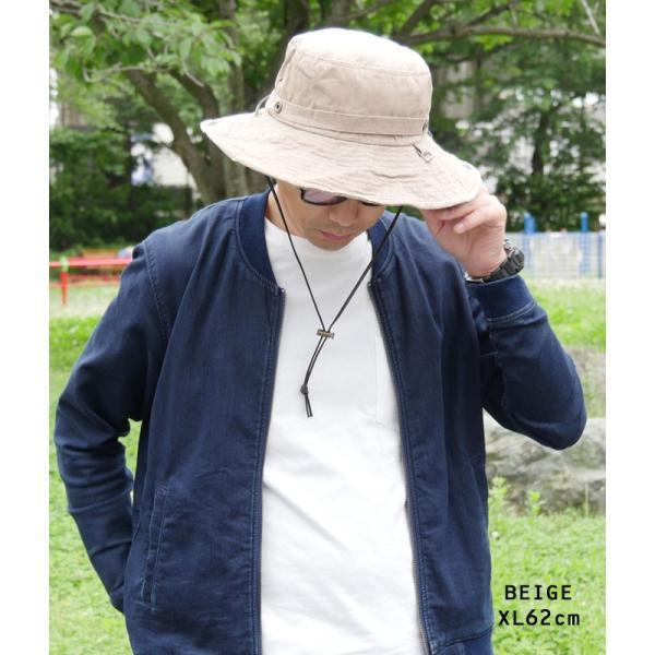 折りたたみ 帽子 2パターン 被り方が出来ちゃう 男女 兼用 テンガロン風 ブーニー 2WAY ハット uvカット 大きいサイズ XL XXL レディース メンズ キッズ|headwear-blake|19