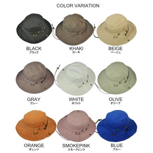 折りたたみ 帽子 2パターン 被り方が出来ちゃう 男女 兼用 テンガロン風 ブーニー 2WAY ハット uvカット 大きいサイズ XL XXL レディース メンズ キッズ|headwear-blake|20