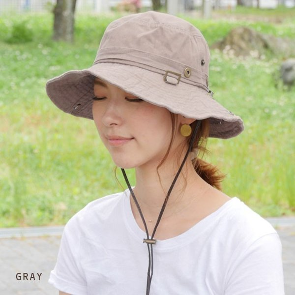折りたたみ 帽子 2パターン 被り方が出来ちゃう 男女 兼用 テンガロン風 ブーニー 2WAY ハット uvカット 大きいサイズ XL XXL レディース メンズ キッズ|headwear-blake|04