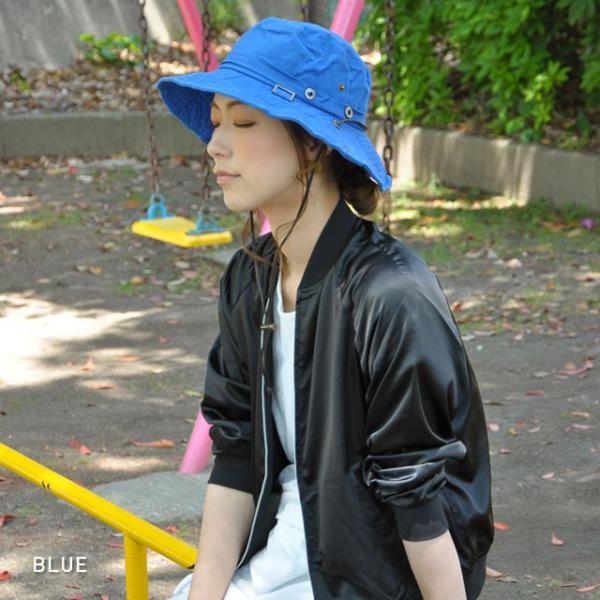 折りたたみ 帽子 2パターン 被り方が出来ちゃう 男女 兼用 テンガロン風 ブーニー 2WAY ハット uvカット 大きいサイズ XL XXL レディース メンズ キッズ|headwear-blake|08