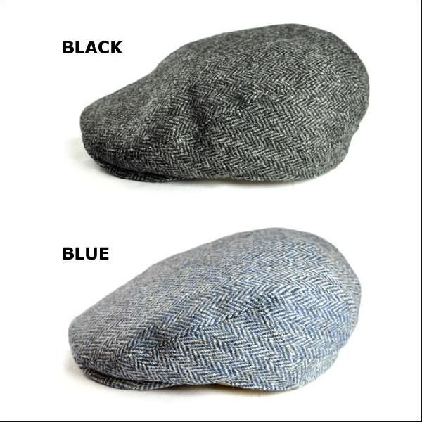(ルジョアル)LUJOAL メンズ 高級 帽子 【日本製】 秋冬物 防寒対策 ハンチング 送料無料 メンズ 【LUJOAL】 ハリスツイードハンチング HARRIS TWEED HUNTING