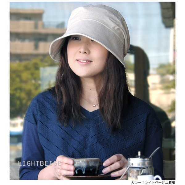 折りたたみ 帽子 レディース uvカット 帽子 UVカット 紫外線対策 小顔効果 のある おしゃれ カモノハシ キャスケット レディース帽子 春 夏 headwear-blake 12