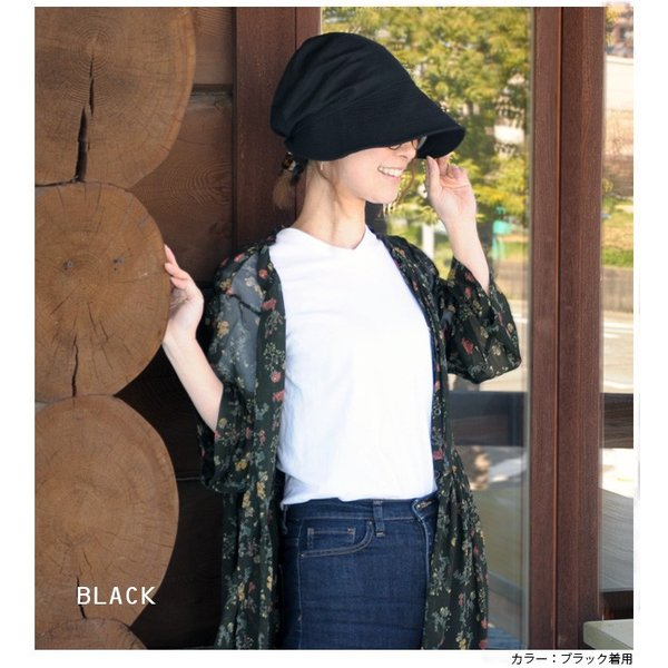 折りたたみ 帽子 レディース uvカット 帽子 UVカット 紫外線対策 小顔効果 のある おしゃれ カモノハシ キャスケット レディース帽子 春 夏 headwear-blake 07