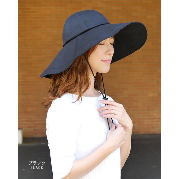 帽子 レディース ハット 調節帽子つばの長さ二種類 UV カッ ト 紫外線防止対策 日焼けツバ広帽子 レディースハット|headwear-blake|02