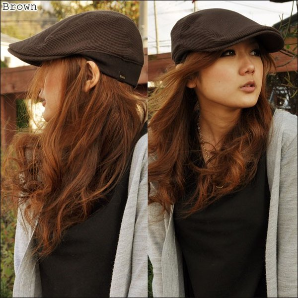 (ジロウズ)JIRROUZ 驚きどんな髪型でもかっこよく決まる 男女兼用 リブがついて被り易い ワッフルハンチング オールシーズン  ハンチング帽|headwear-blake|12
