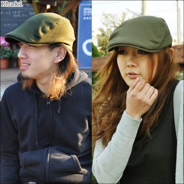 (ジロウズ)JIRROUZ 驚きどんな髪型でもかっこよく決まる 男女兼用 リブがついて被り易い ワッフルハンチング オールシーズン  ハンチング帽|headwear-blake|14