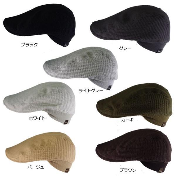 (ジロウズ)JIRROUZ 驚きどんな髪型でもかっこよく決まる 男女兼用 リブがついて被り易い ワッフルハンチング オールシーズン  ハンチング帽|headwear-blake|04