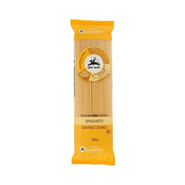 アルチェネロ 有機デュラムセモリナ スパゲッティ 500g  - 日仏貿易