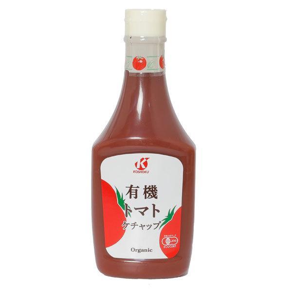 恒食 有機トマトケチャップ 500g  - 恒食