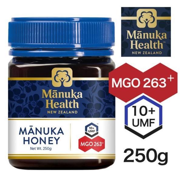 マヌカヘルス マヌカハニー MGO263+ UMF10+ 250g  - 富永貿易