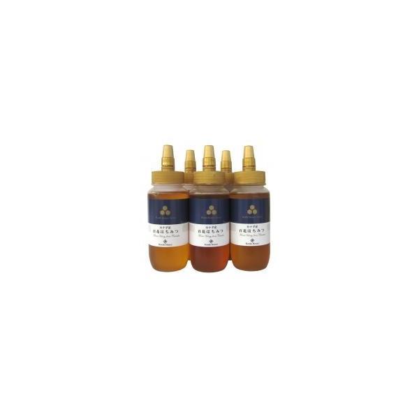 近藤養蜂場 カナダ産百花蜂蜜 485g×5個セット