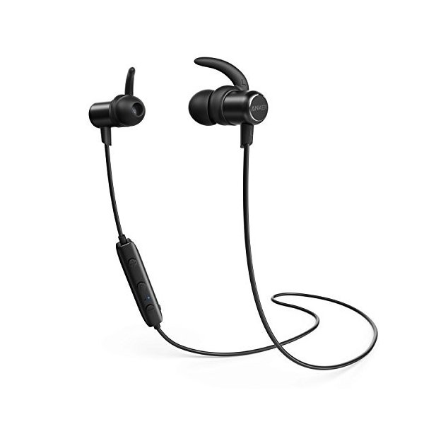 Anker SoundBuds Slim Bluetoothイヤホン(カナル型)【マグネット機能 / 防水規格IPX4 /内蔵マイク搭載】 iPhone、Android各種対応 A3235011|healthysmile