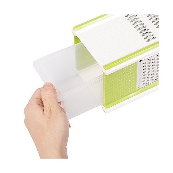Hodoo 薄切り機 スライサー ステンレス キッチン用品 おろし器|healthysmile|04