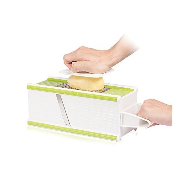Hodoo 薄切り機 スライサー ステンレス キッチン用品 おろし器|healthysmile|06